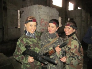 Организация и проведение девичников в стиле милитари в Киеве