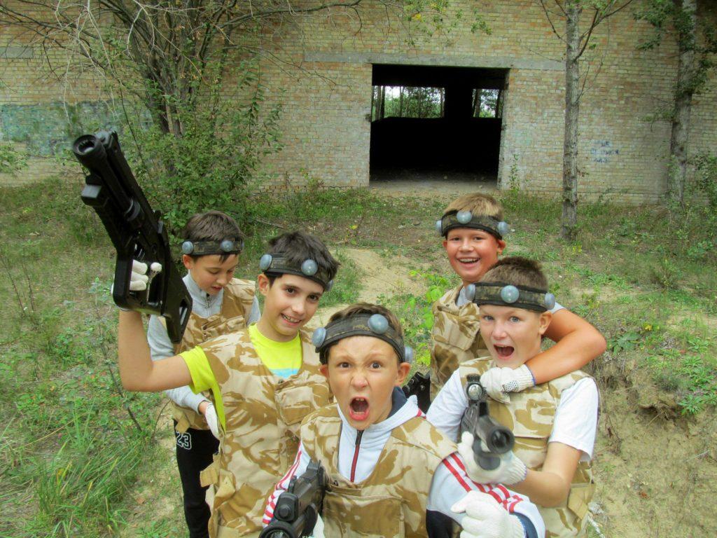 Полигоны, локации и площадки для игры лазертаг в Киеве