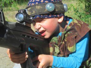 Организация и проведение детских выпускных в стиле милитари в Киеве