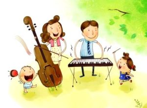 Семейные праздники и распределение ролей